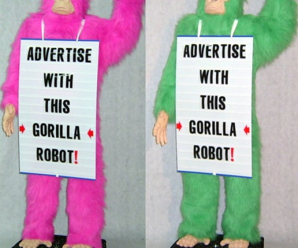 Advertise With This Gorilla Robot