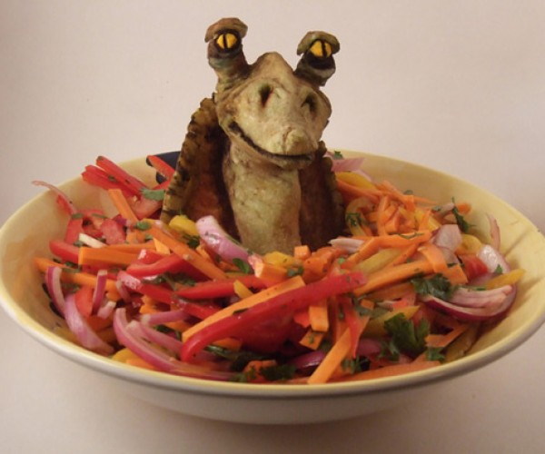 Jar Jar Binks Salad: Me Thinks No Thanks.