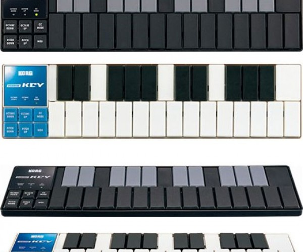 Korg Nano USB Midi Controllers Let You Make Beautiful Music