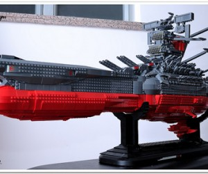 Hado Enjin Go!!!: LEGO Space Battleship Yamato