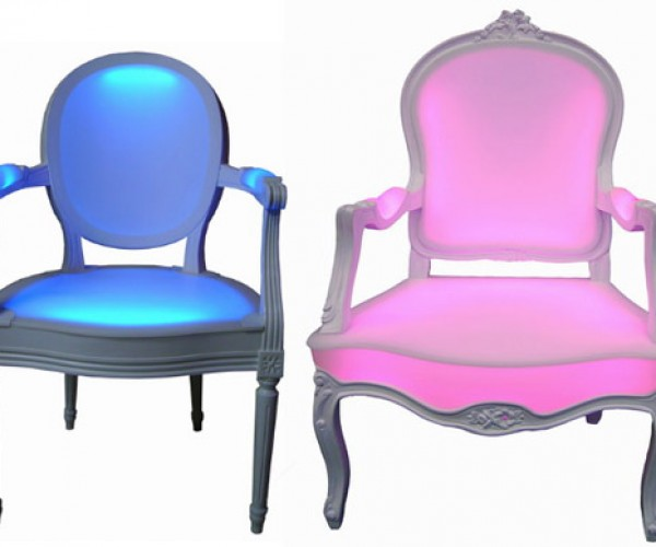 LED Chairs Light Up Your Backside With Color