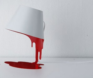 Floating Bloody Mess: the Liquid Lamp