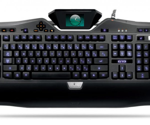 Logitech G19 LCD Gaming Keyboard Available for Pre-Order