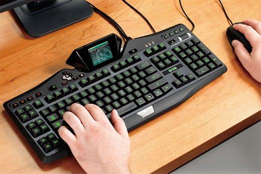 logitech g19 keyboard 2
