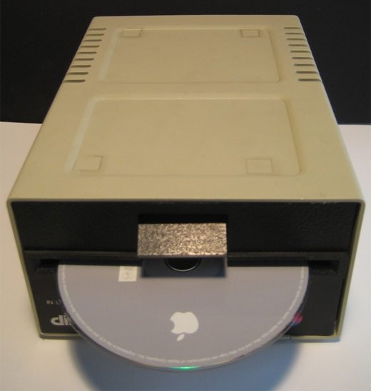 mac mini apple 2 drive
