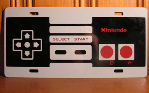 nes_controller_license_plate