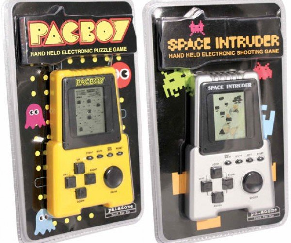 Pacboy and Space Intruder: Retro 8-Bit Games From a (Bad) Alternative Dimension