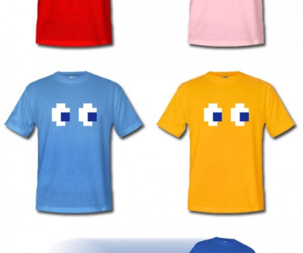 Pac-Man Ghost T-Shirts Are Pixel Perfect