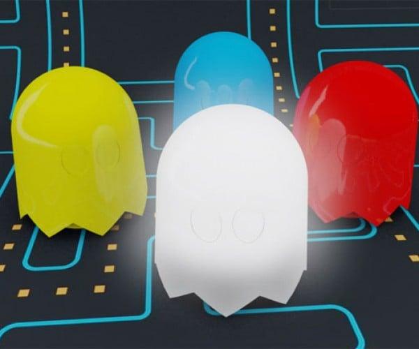 Pac-Man Ghost Lamps: Blinky, Blinky, Blinky and Blinky