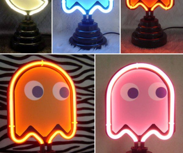 Neon Pac-Man Lights: Viva Pac Vegas