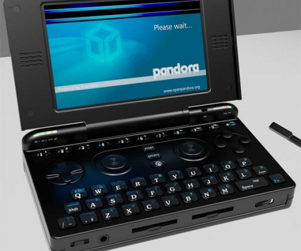 Pandora Open Source Handheld Design Gets Updated