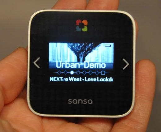 sansa slotradio media player mp3 audio