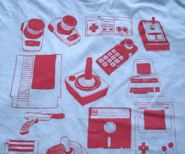 Relive the Big and Chunky Days of Gadgets With Fauxsure Shirts