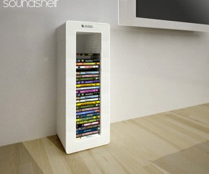 Soundshelf Design Concept: Not for Libraries