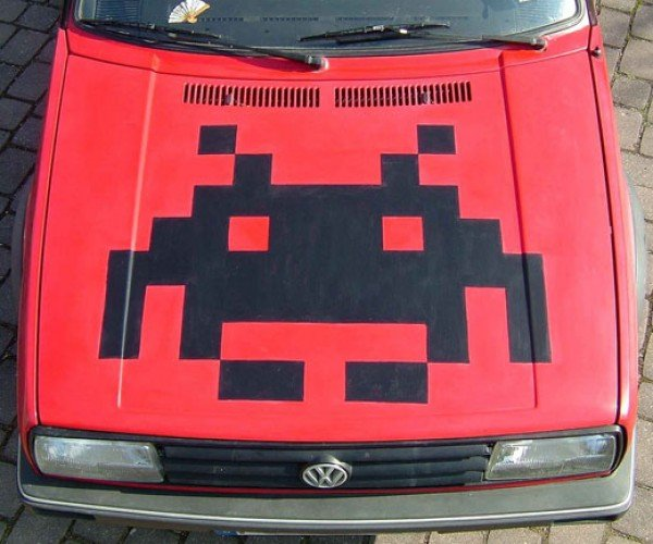 Space Invaders Car: Guess They Gave Up on Spaceships