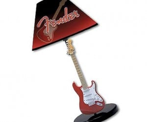 Fender Guitar Lamp for Music Geeks