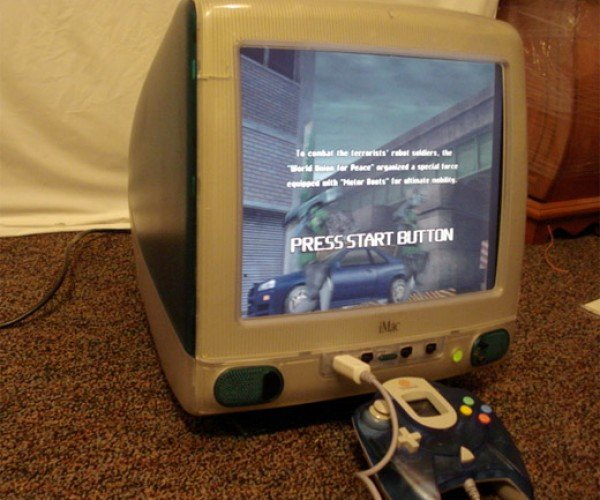 That'S No iMac: Dreamcast Guts, Apple Form Factor