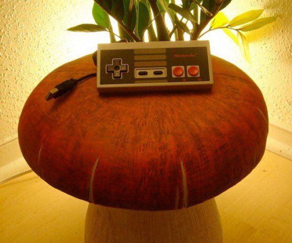 NES Controller Pulls Double Duty as Mouse