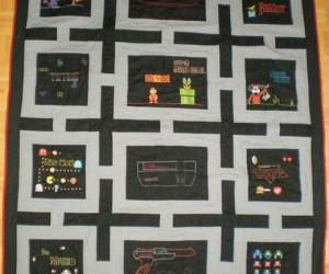 NES Quilt Celebrates Nostalgic Diversity