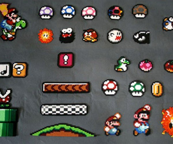 Super Mario World Sprite Art