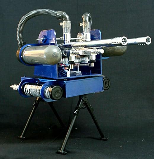 paintball turret gun