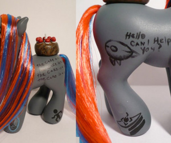 Pair of Portal Ponies Pops Up