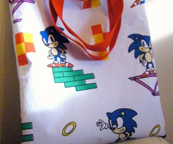 Tote Your Rings in This Sonic Bag