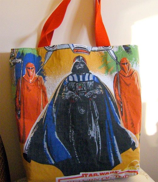 star wars tote bag darth vader