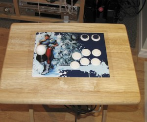 Tray Table Gets New Identity as Arcade Stick