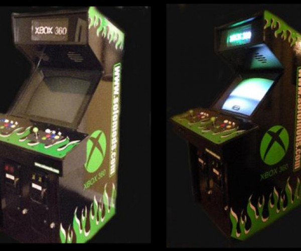Xbox 360 Arcade Cabinet for Serious Gamers