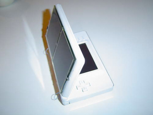 nintendo ds solar panel green instructable diy