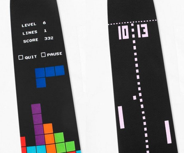 8-Bit Video Game Neckties Probably Won't Pass as Formalwear