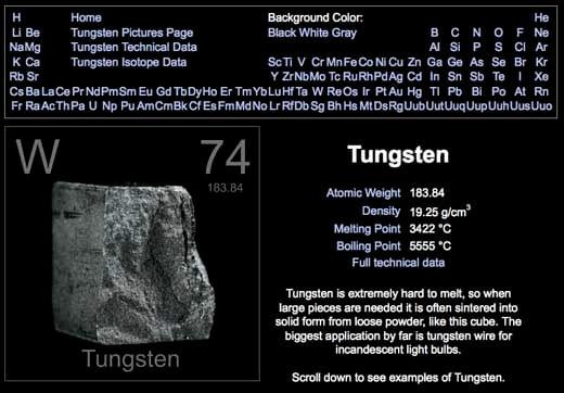 tungsten-ftw