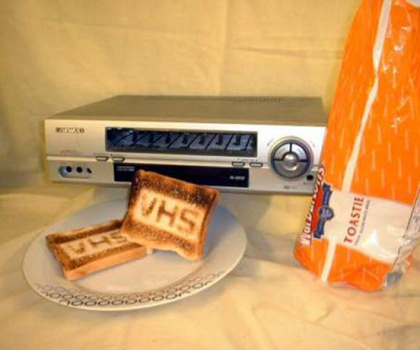 Vhs Video Toaster [Epic Fail]