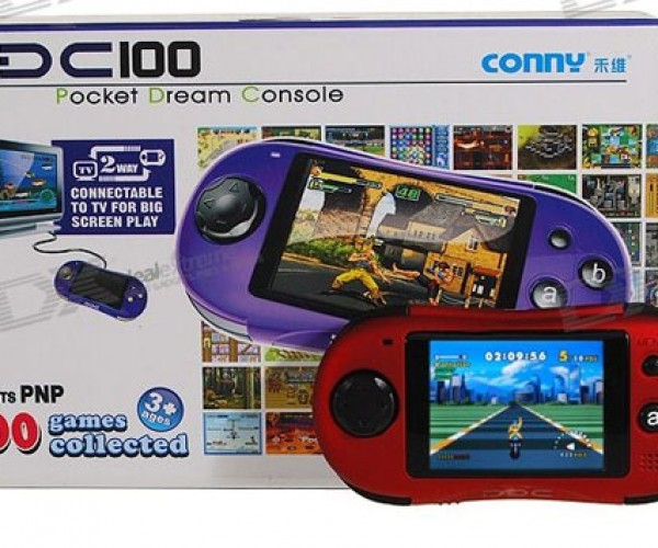 Conny Pdc100 Handheld Video Game System has 100 Built-in Games – You'Ve Heard of None of Them
