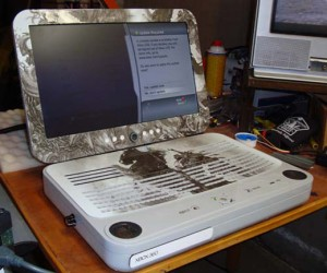 Ben Heck Collabos With Colorware to Create Xbox 360 Laptop for Thq'S Darksiders Game