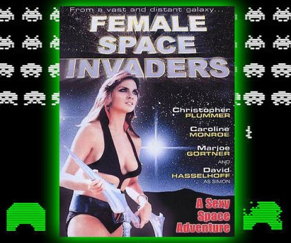 Female Space Invaders: I Don'T Remember This Part of the Video Game