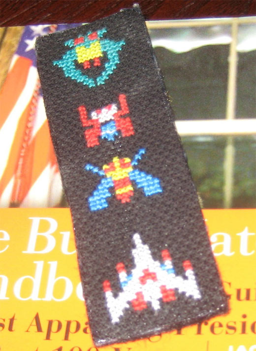 galaga bookmark 2