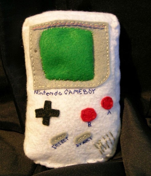 gameboy cat toy