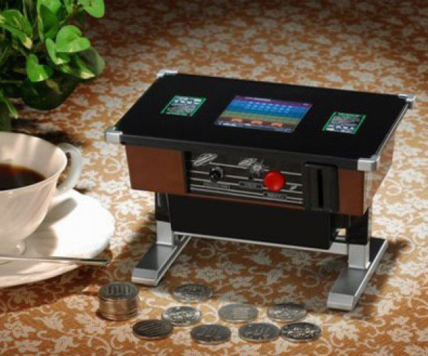 Space Invaders Piggy Bank Only Saves Yen