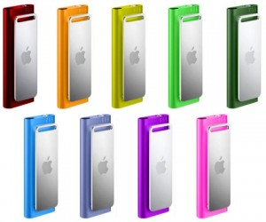 IPod Shuffle 3g Gets Candy Coated Colors