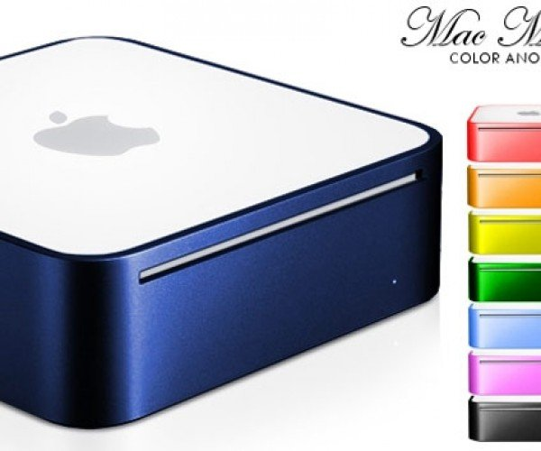 Color Your Mac Mini With Custom Anodizing