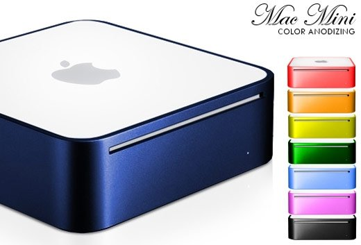 mac mini colors