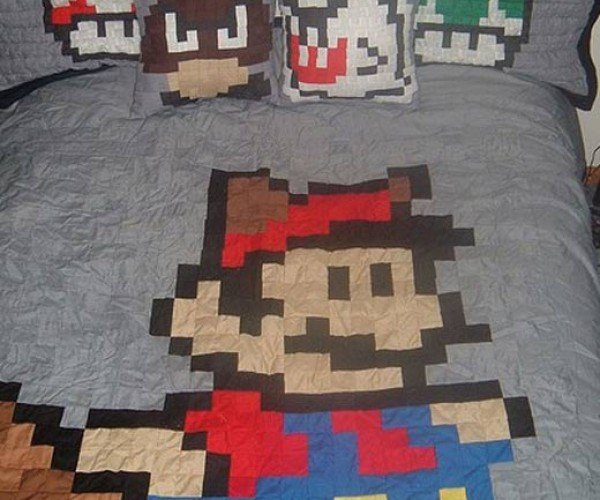 But Our Princess is in Another… Bed? :Custom Made Super Mario Bed