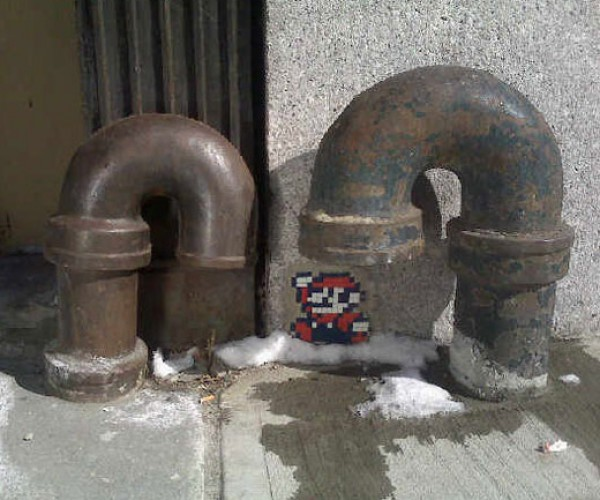 Mario Hits the Streets of New York