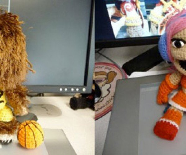 Blasts From the Past in Custom Crochet Sackboy Form