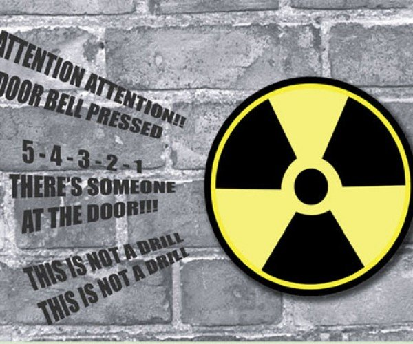 Nuclear Doorbell is the Most Annoying Way for Visitors to Announce Their Arrival, Ever.