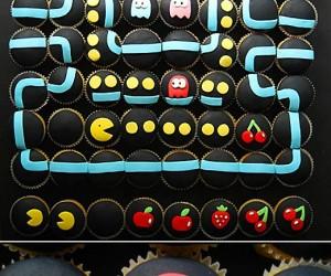 Pac-Man Cupcakes 2.0