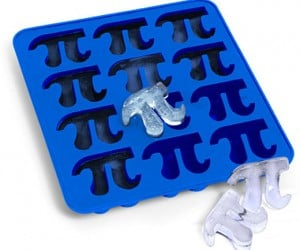 Cool & Calculated: Pi Symbol Ice Cube Tray