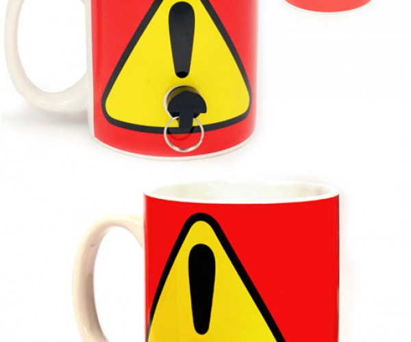 Plug Mug Renders Your Mug Useless – Take That You Coffee Cup Thieves!